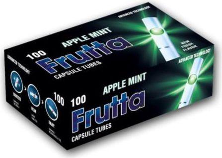 Futta Tuburi cu filtru capsule Apple / Mint (100)