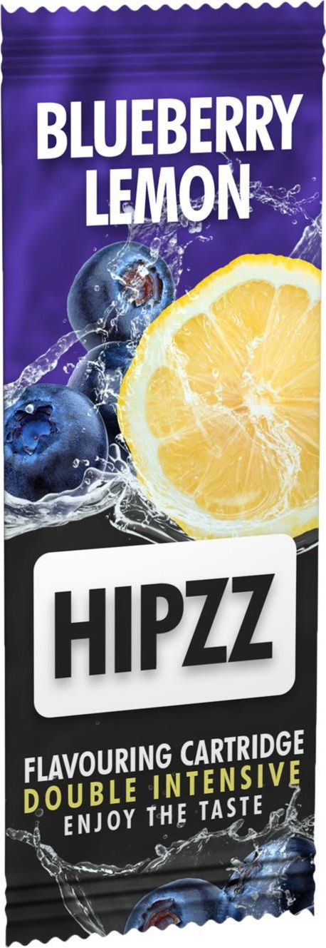 HIPZZ CARTOANE AROMATICE PENTRU TUTUN BLUEBERRY LEMON (1)