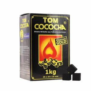 Carbuni narghilea Tom Cococha Gold
