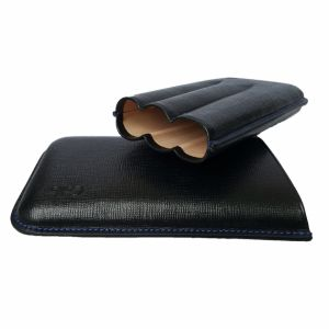 Corona leather cigar case Colibri