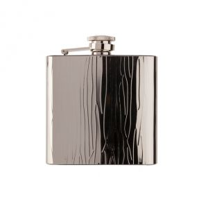 Alcohol flask Chrome Shiny Structure