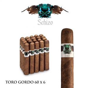 Schizo Toro Gordo 60 x 6 Nicaragua (20)