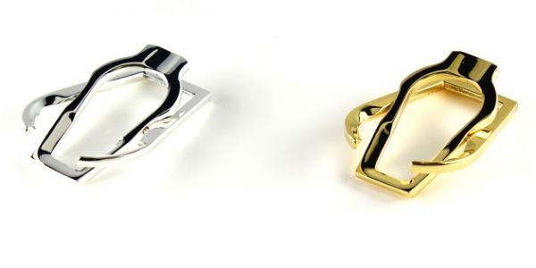 Suport metalic pliabil de buzunar pentru pipa Savinelli
