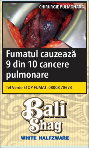 Tutun de rulat Bali WHITE Halfzware