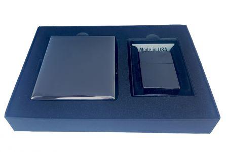 Zippo Gift Set EBONY