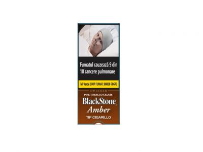 BlackStone Tip Cigarillos Amber (5)