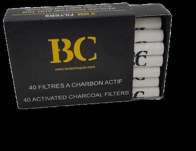 Filtre carbon BC 9 mm