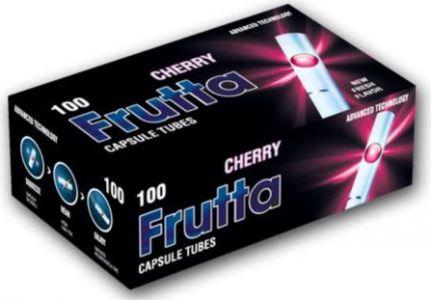 Frutta Tuburi cu filtru capsule Cirese (100)