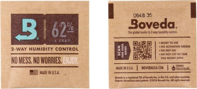 Boveda Small 2-Way Humidity Control 62% (4gr)