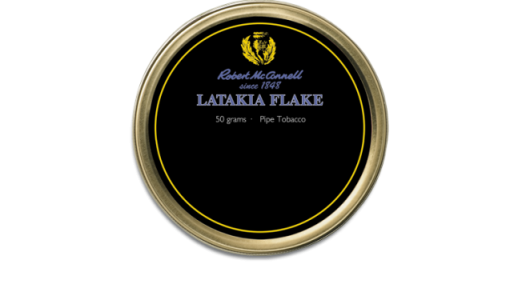 Tutun de pipa Robert McConnell Latakia Flake